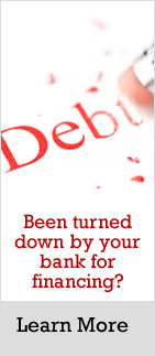 Debe: been turned down by the banks. Hard money loans